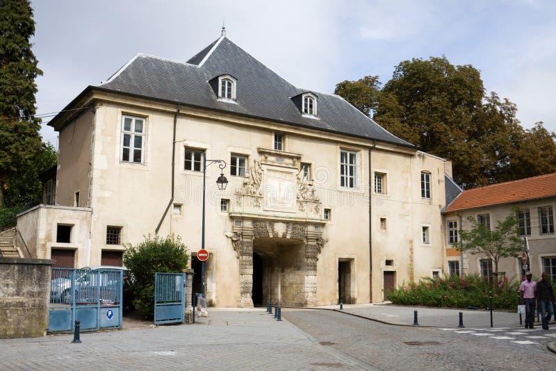 De oude Citadelpoort in Nancy, Frankrijk stock foto's