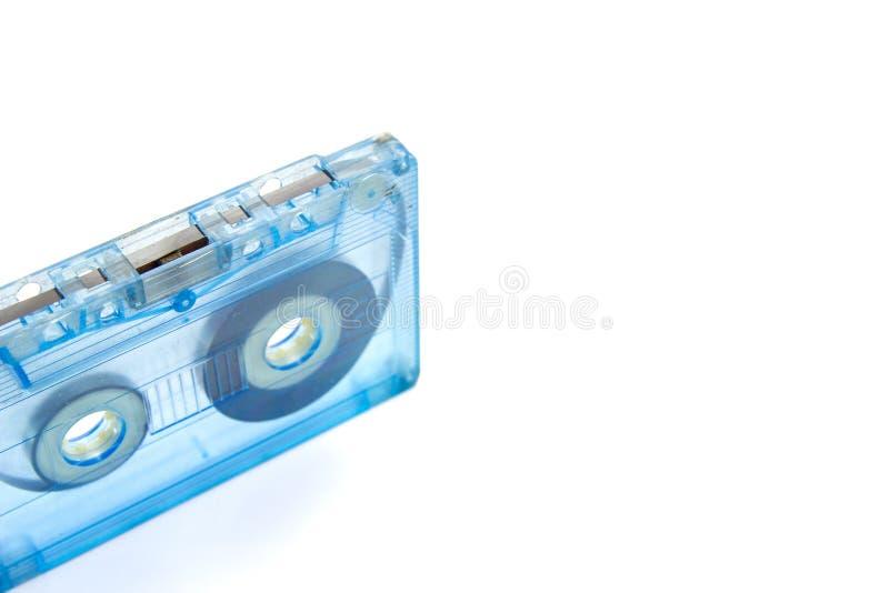 De oude en Vuile Bandcassette isoleert royalty-vrije stock afbeelding