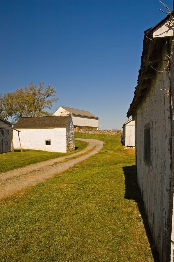 Oude Landbouwbedrijfgebouwen - 2 royalty-vrije stock afbeelding