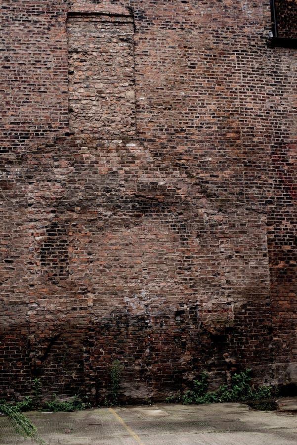 De oude Gereduceerde Verlaten oude bouw in Manchester royalty-vrije stock foto's