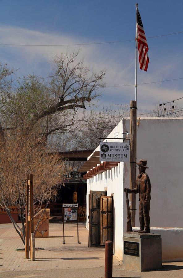 De oude Gevangenis van de Provincie van El Paso royalty-vrije stock foto