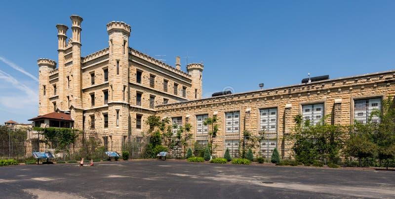 De oude Gevangenis van de Staat Joliet royalty-vrije stock fotografie