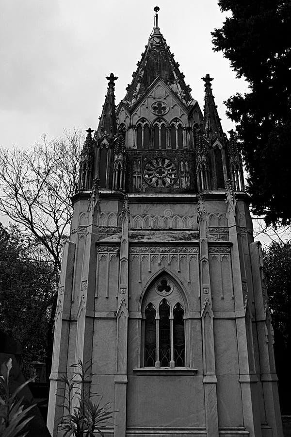De oude gotische kapel royalty-vrije stock afbeeldingen
