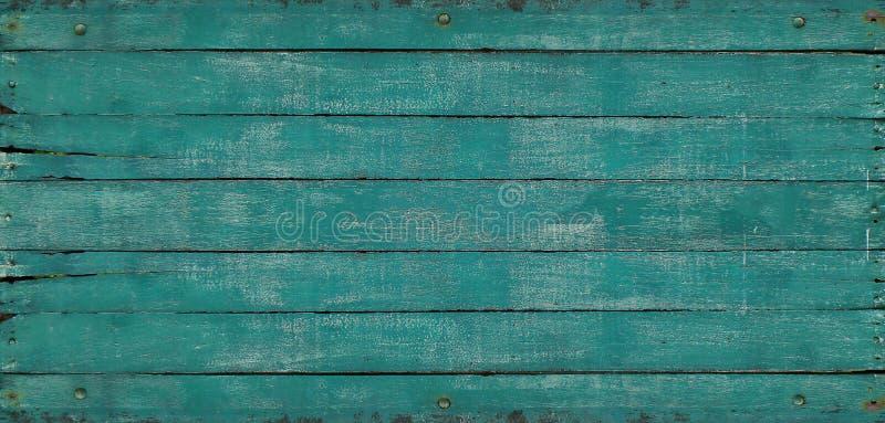 De oude groene achtergrond van de muur houten textuur royalty-vrije stock foto