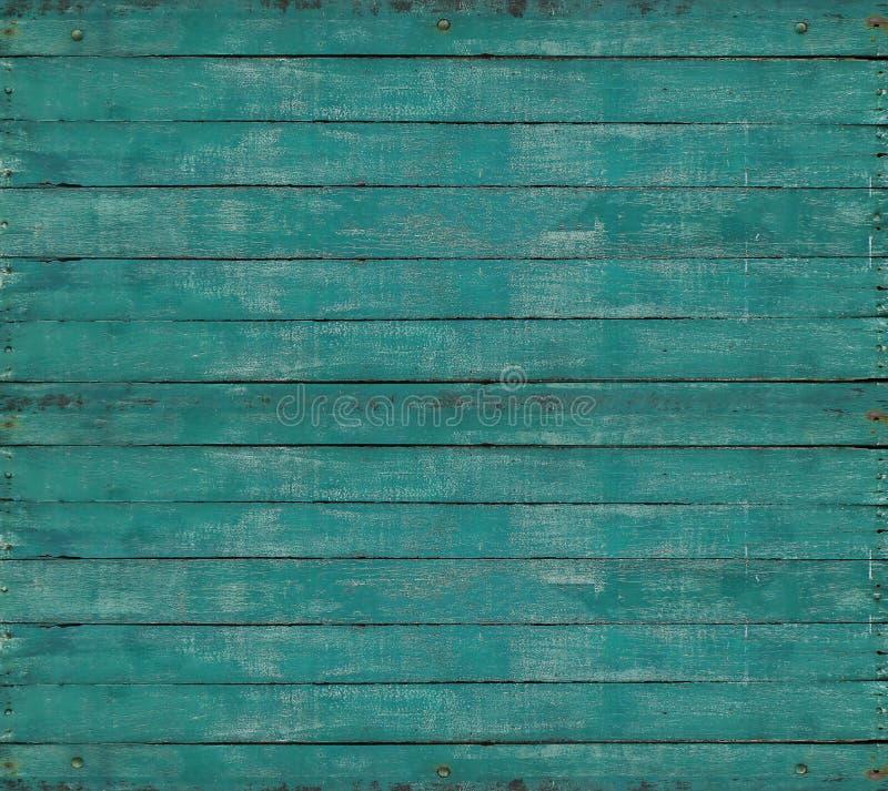 De oude groene achtergrond van de muur houten textuur royalty-vrije stock afbeelding