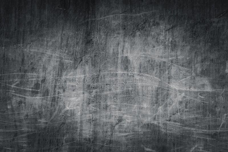 De oude grungy textuur van de kras vuile concrete muur royalty-vrije stock afbeelding
