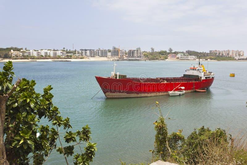 De oude Haven van Mombasa, Kenia stock afbeeldingen