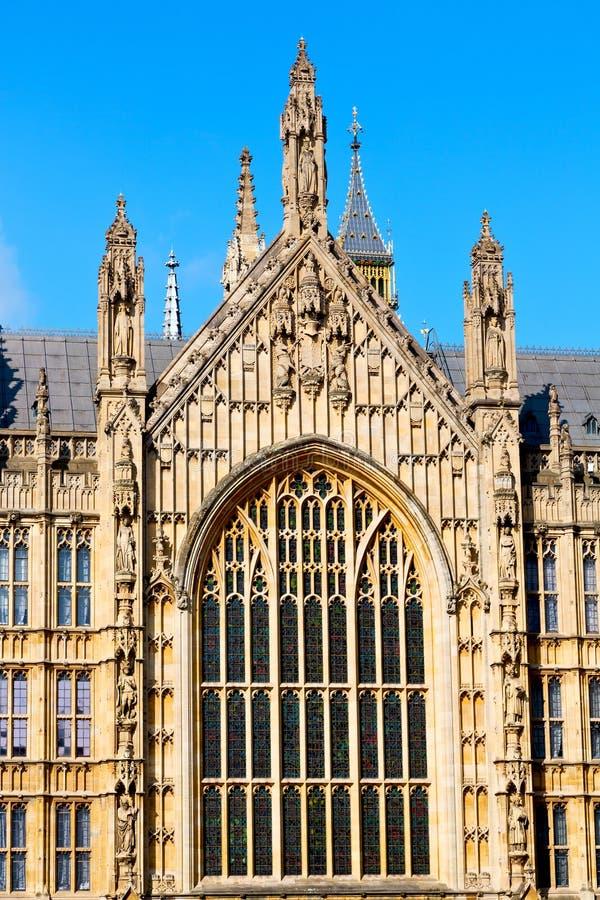 in de oude historische hemel van Londen stock foto's