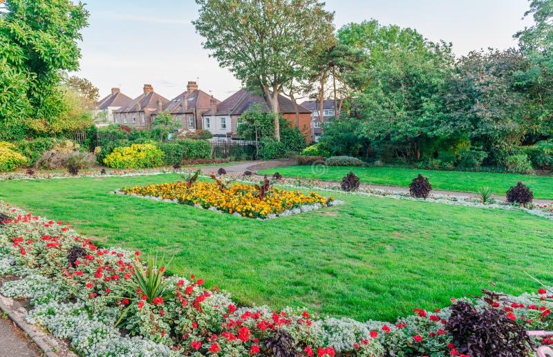 De Oude Hof Grond van de Huisrecreatie in Barnet stock fotografie