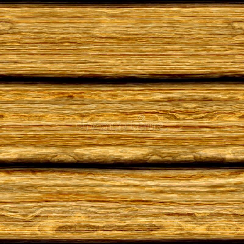 De oude Houten Textuur van de Raad stock illustratie