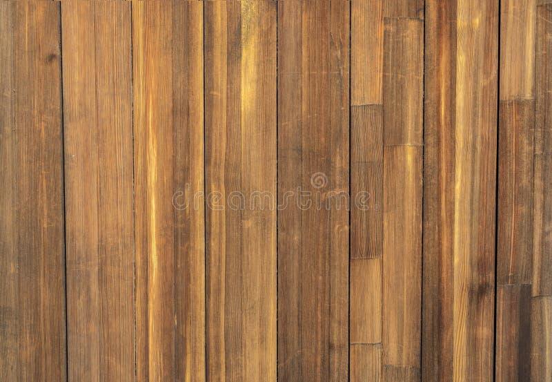 De oude houten textuur van de raadsomheining voor bacground royalty-vrije stock foto