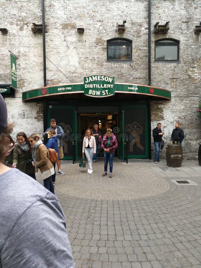 De oude Jameson-distilleerderij royalty-vrije stock foto's