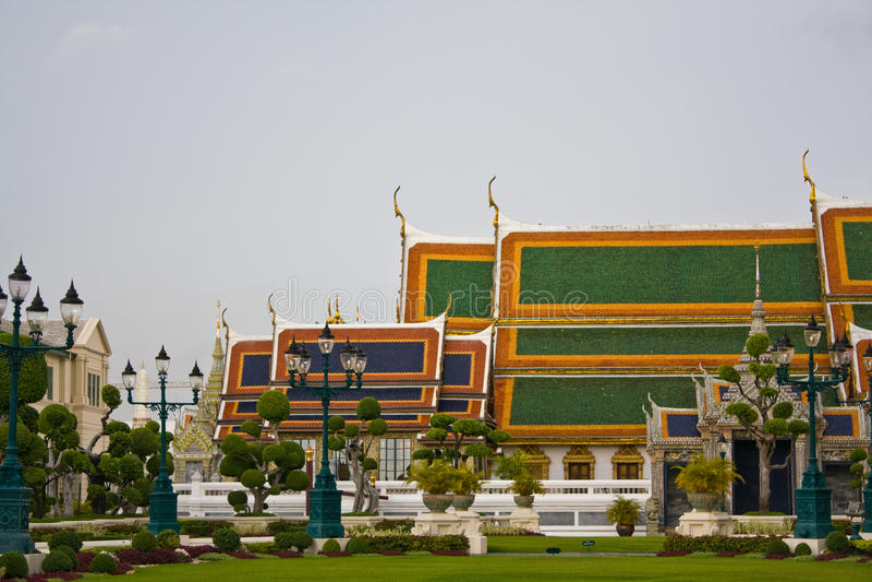 De oude kant van Royal Palace royalty-vrije stock afbeelding