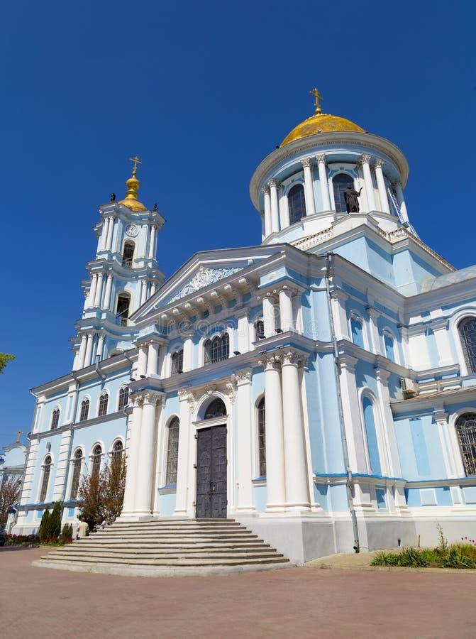 De oude Kathedraal van de Verlossertransfiguratie Stad Soumi, de Oekra?ne stock afbeeldingen