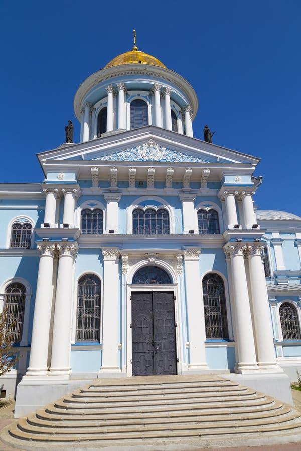 De oude Kathedraal van de Verlossertransfiguratie Stad Soumi, de Oekra?ne royalty-vrije stock foto's
