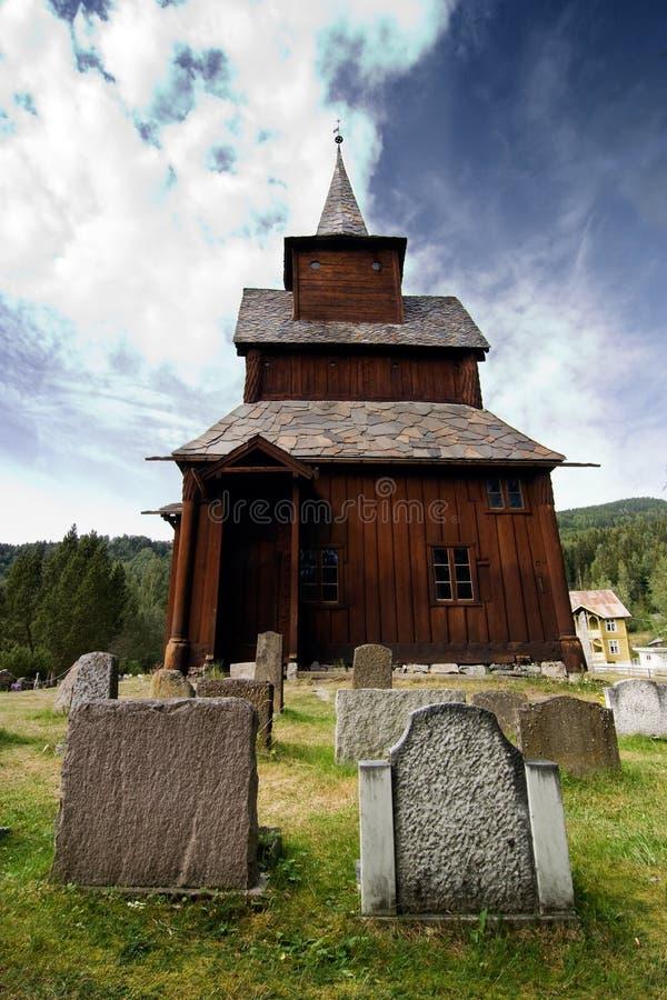 De oude Kerk van de Staaf stock afbeeldingen