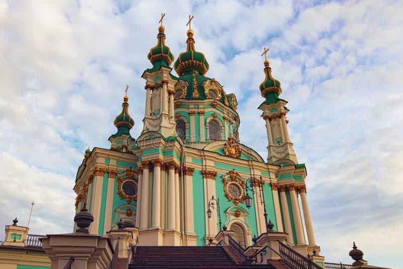 De oude Kerk van Heilige Andrew is een belangrijke Barokke kerk Het werd geconstrueerd tussen 1747 en 1754 stock afbeeldingen