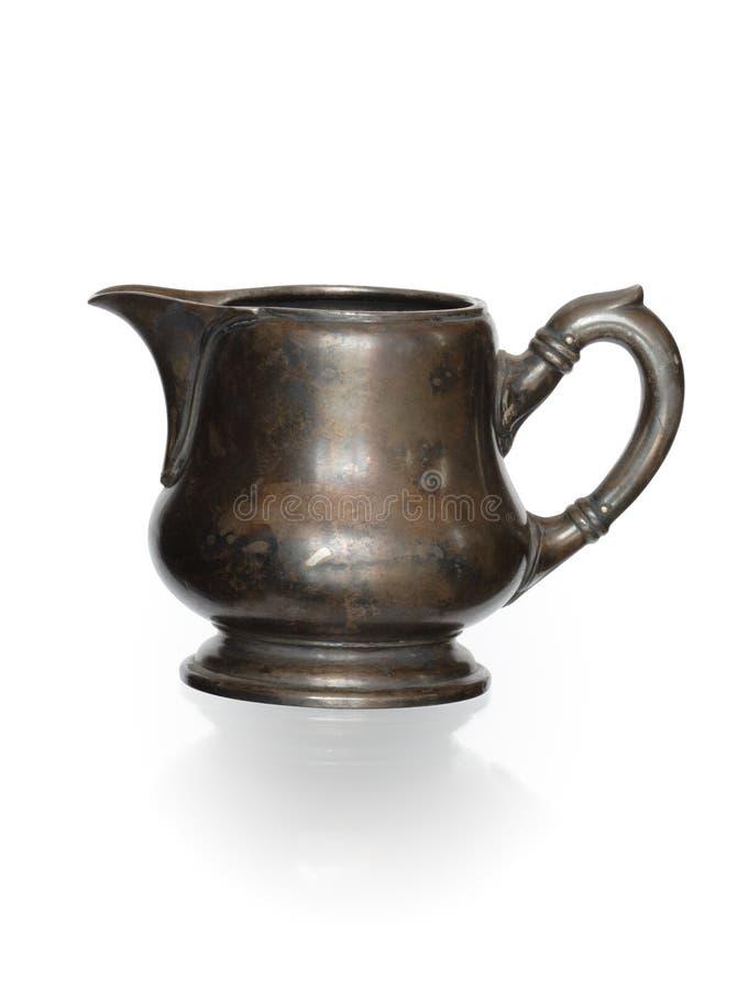 De oude Kruik van de Melk royalty-vrije stock afbeelding