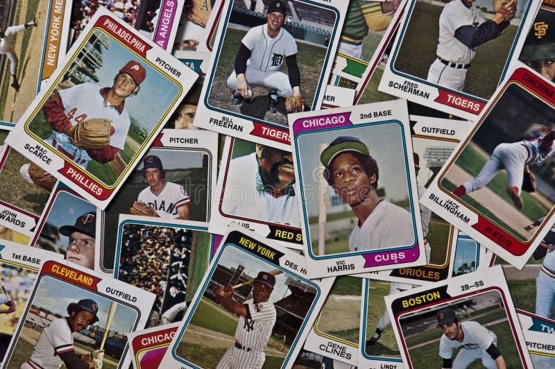 De oude Memorabilia van de Sporten van Kaarten MLB Baseballs Uitstekende