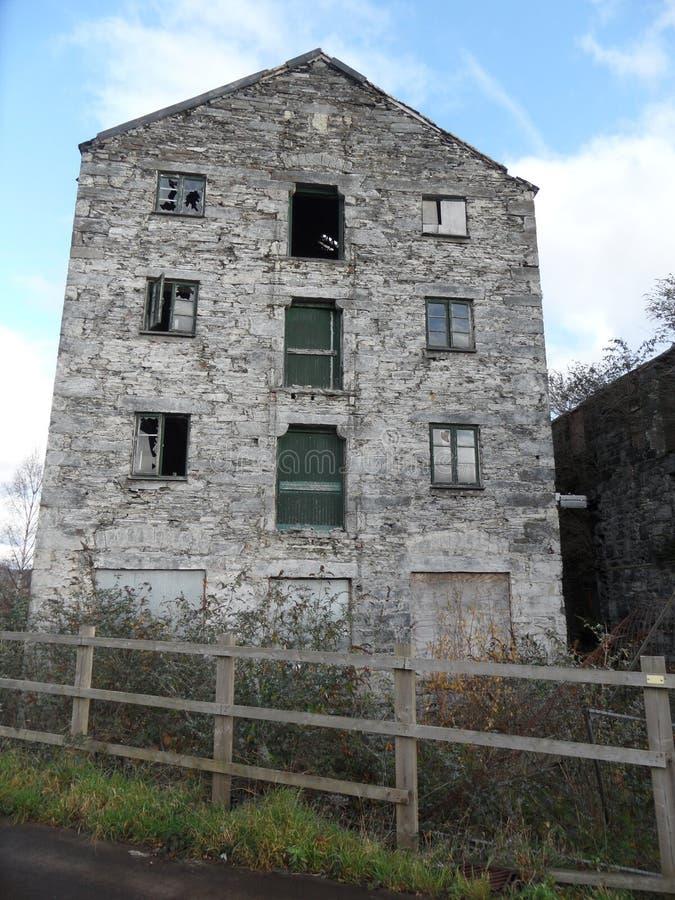 De oude molen stock foto