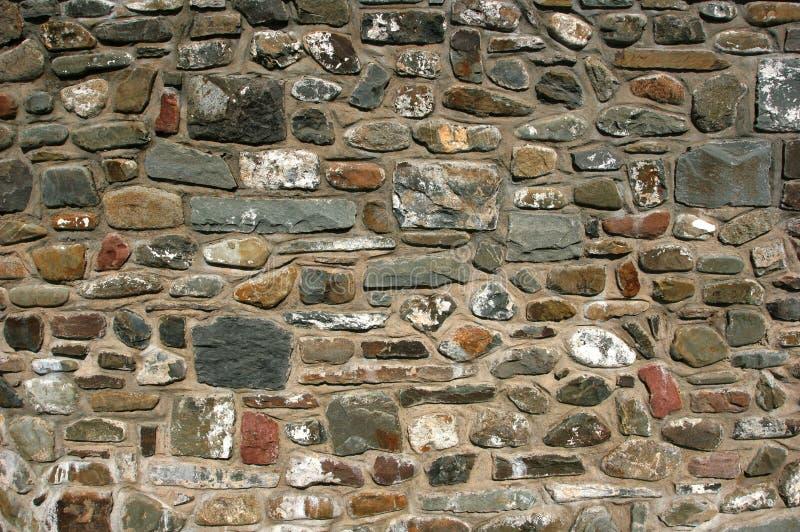 De oude Muur van de Steen royalty-vrije stock foto's