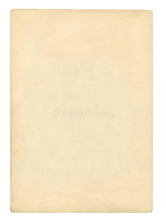 De oude Pagina van het Boek stock foto