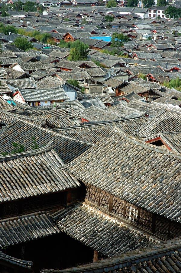 De oude Provincie van Lijiang royalty-vrije stock afbeeldingen