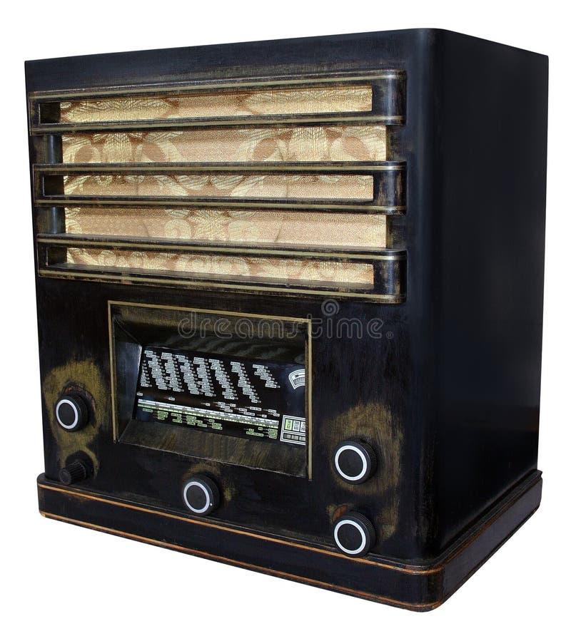 De oude radio royalty-vrije stock fotografie