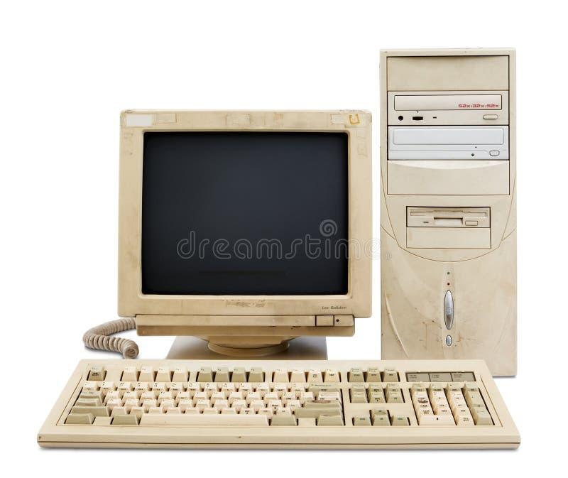 De oude reeks van PC royalty-vrije stock afbeeldingen