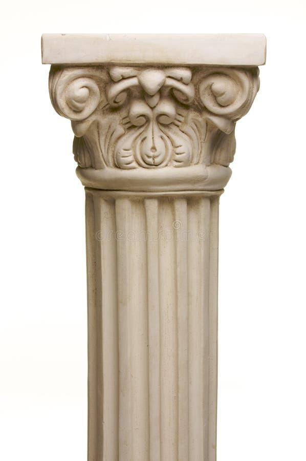 De oude Replica van de Pijler van de Kolom stock fotografie