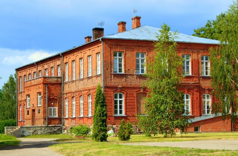 De oude School? stock afbeelding