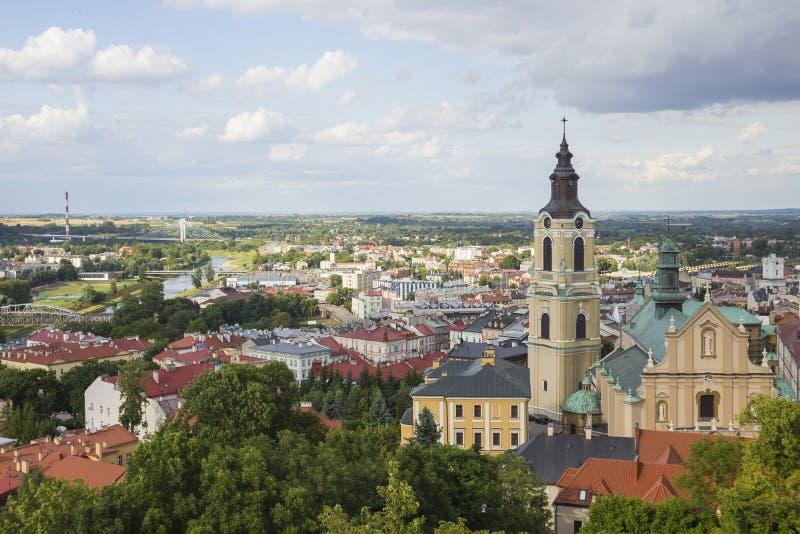 De oude stad Przemysl, Polen stock afbeeldingen