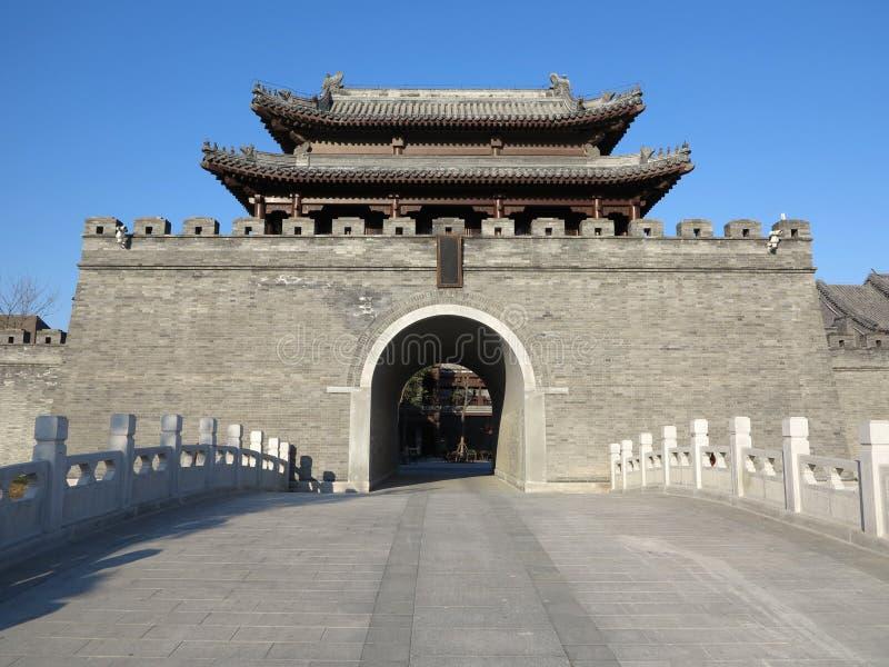 De Oude Stad van China, Tianjin stock fotografie