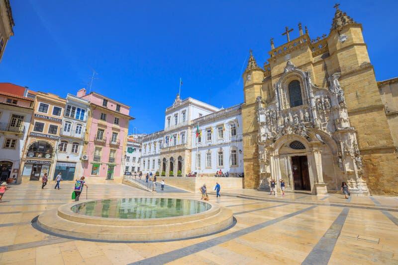 De oude Stad van Coimbra stock fotografie