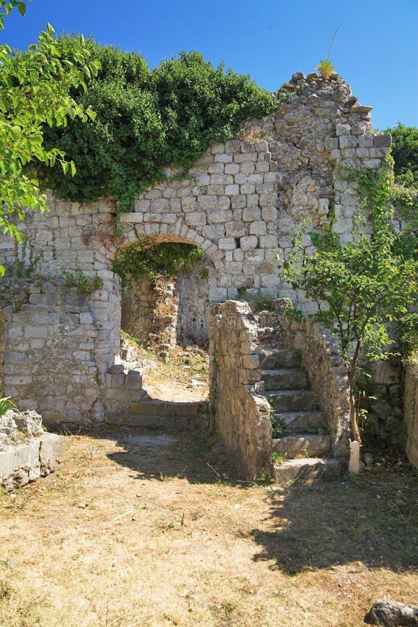 De Oude Stad van de staaf, Montenegro royalty-vrije stock fotografie