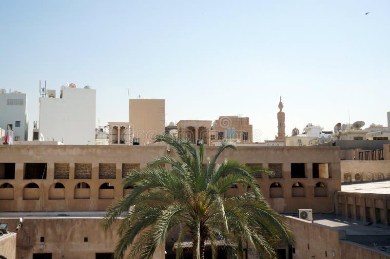 De oude stad van Doubai royalty-vrije stock afbeeldingen