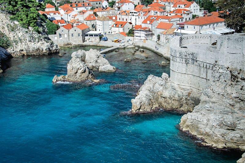 De Oude Stad van Dubrovnik stock afbeelding