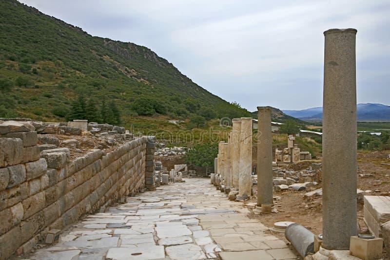 De Oude Stad van Ephesus royalty-vrije stock foto's