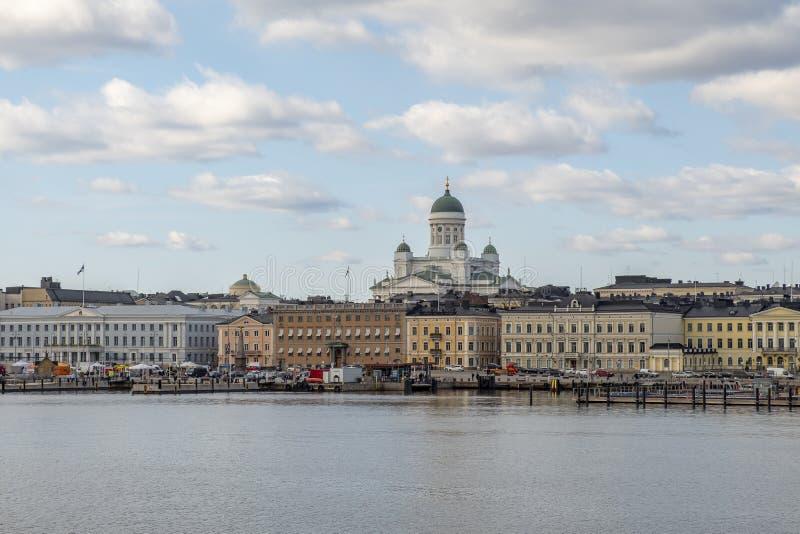 De Oude Stad van Helsinki, Finland royalty-vrije stock fotografie