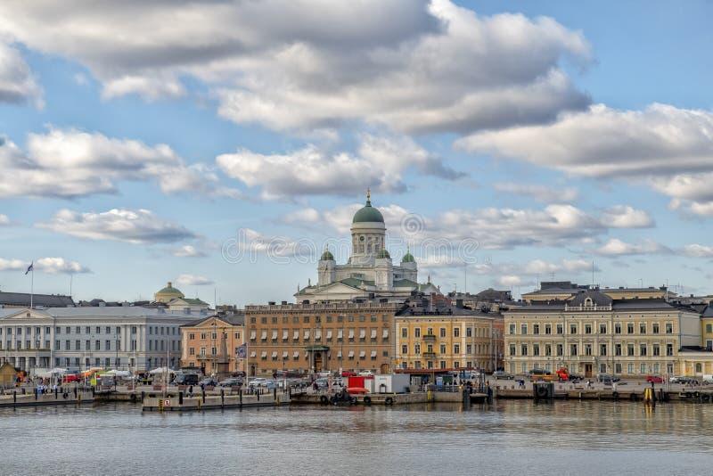 De Oude Stad van Helsinki, Finland stock fotografie