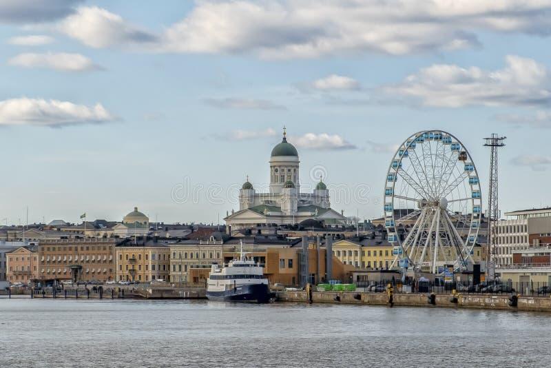 De Oude Stad van Helsinki, Finland royalty-vrije stock foto