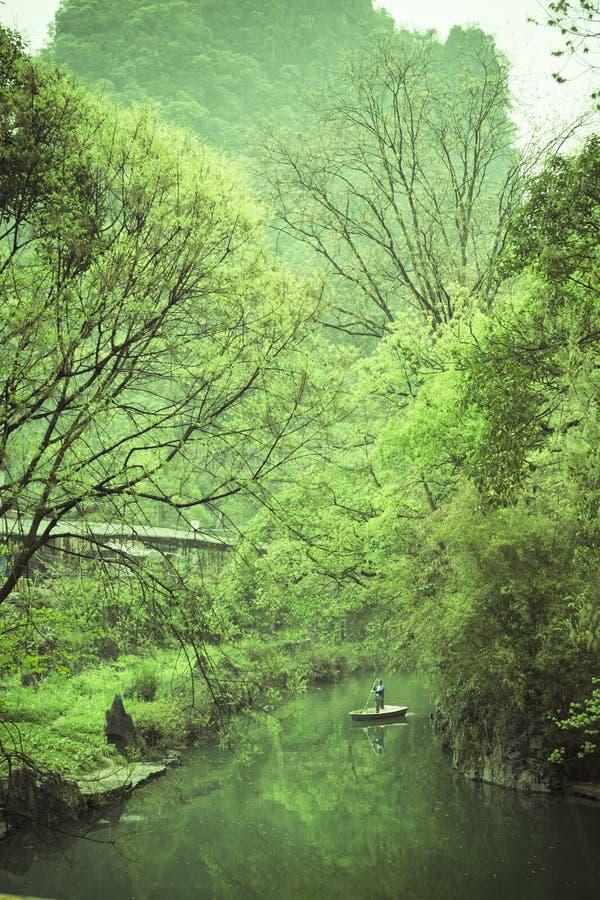 De Oude stad van Huangyao royalty-vrije stock foto's