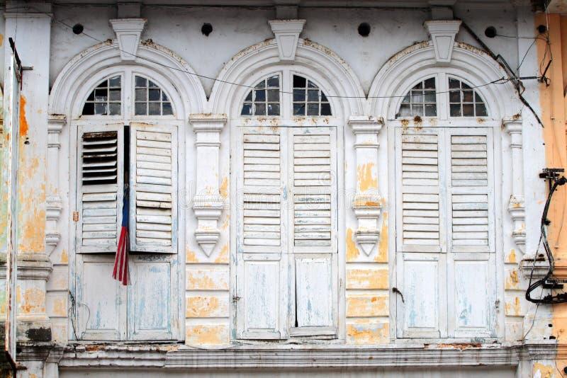 De Oude Stad van Ipoh, Maleisië stock foto's