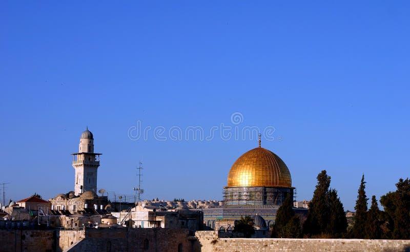 De Oude stad van Jeruzalem royalty-vrije stock foto's