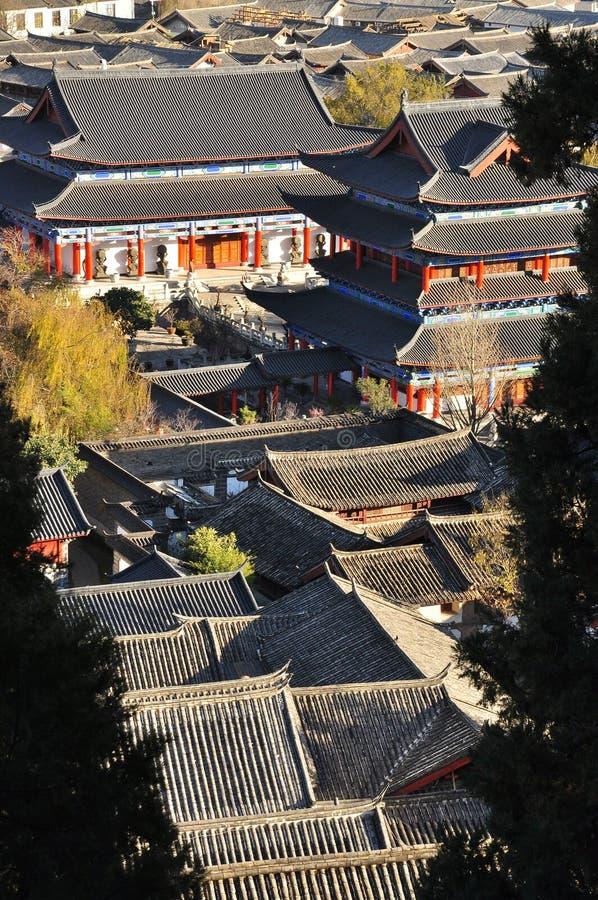 De oude stad van Lijiang. Yunnan, China royalty-vrije stock afbeeldingen