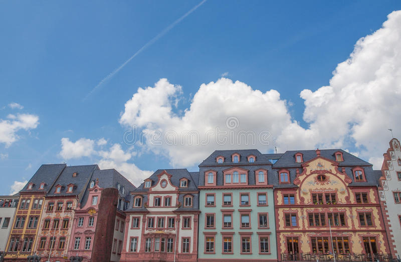 De Oude Stad van Mainz royalty-vrije stock foto