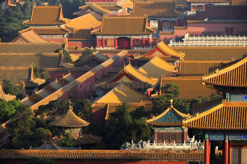 De oude stad van Peking, China royalty-vrije stock foto