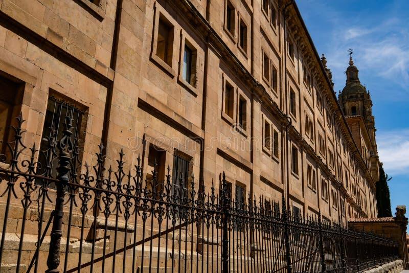 De oude stad van Salamanca stock afbeeldingen