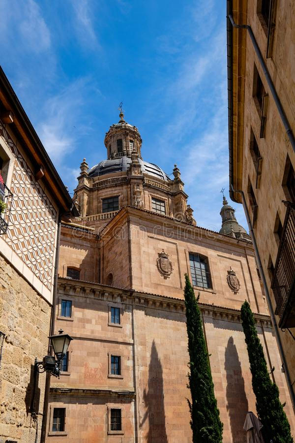 De oude stad van Salamanca stock afbeelding
