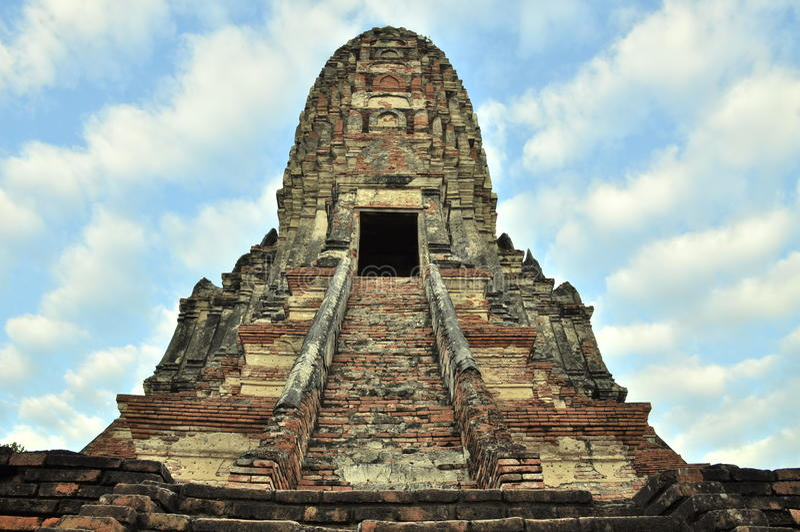 De oude stad van Si Ayuttha van Ayutthaya Phra Nakhon royalty-vrije stock fotografie
